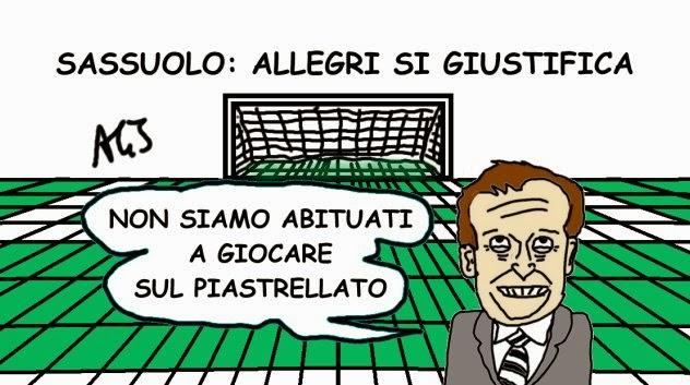 Juventus, Sassuolo, Allegri