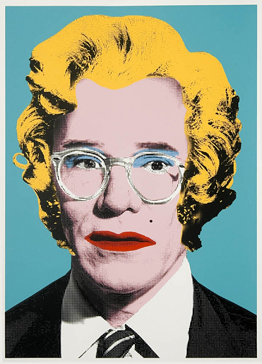 Lunacy of art march 2013 for Andy warhol famous paintings