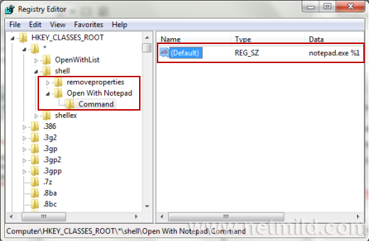 how to open rpt file in notepad