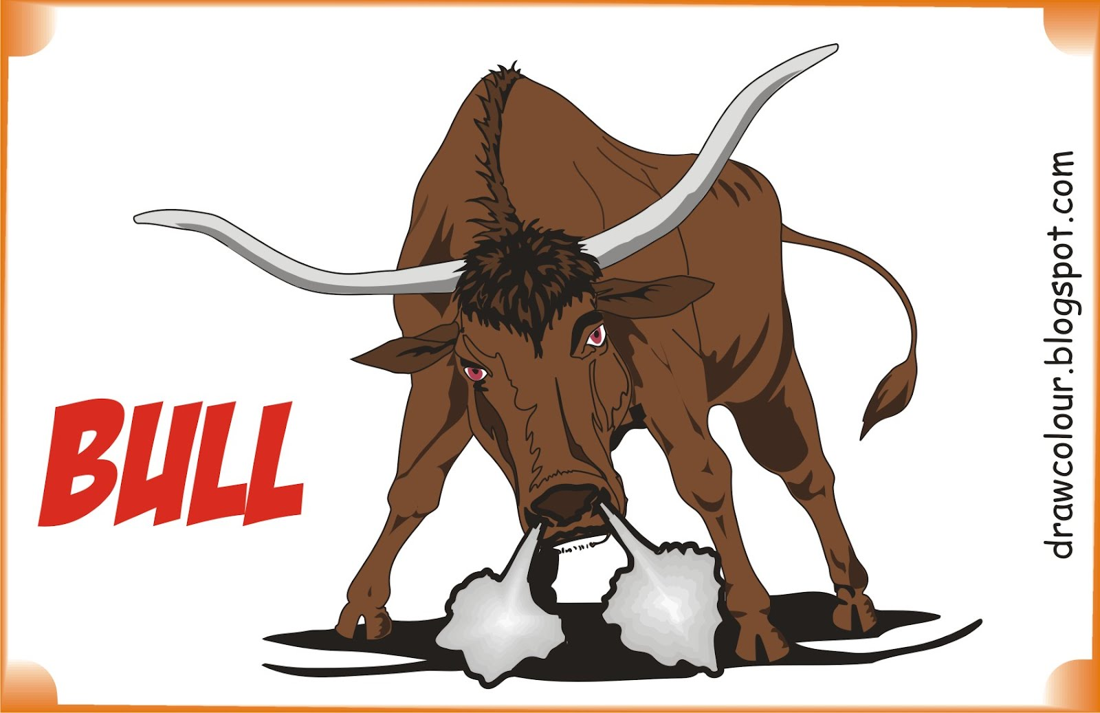 bull-coloring-pages