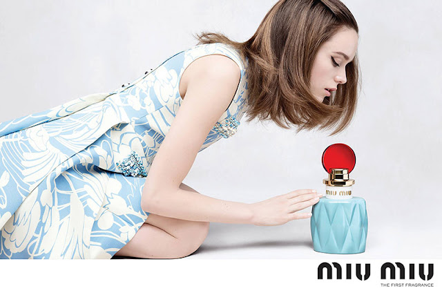 Miu Miu Fragrance Campaign 2015 featuring Stacy Martin