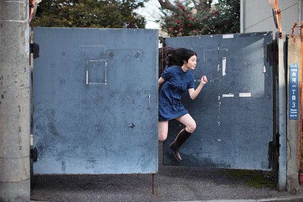 Gambar Gadis terbang, Natsumi Hayashi