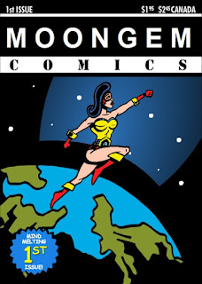 Cover of Moongem Comics #1