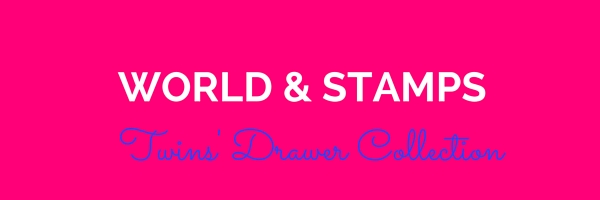 World & Stamps - Twins Drawer Collection