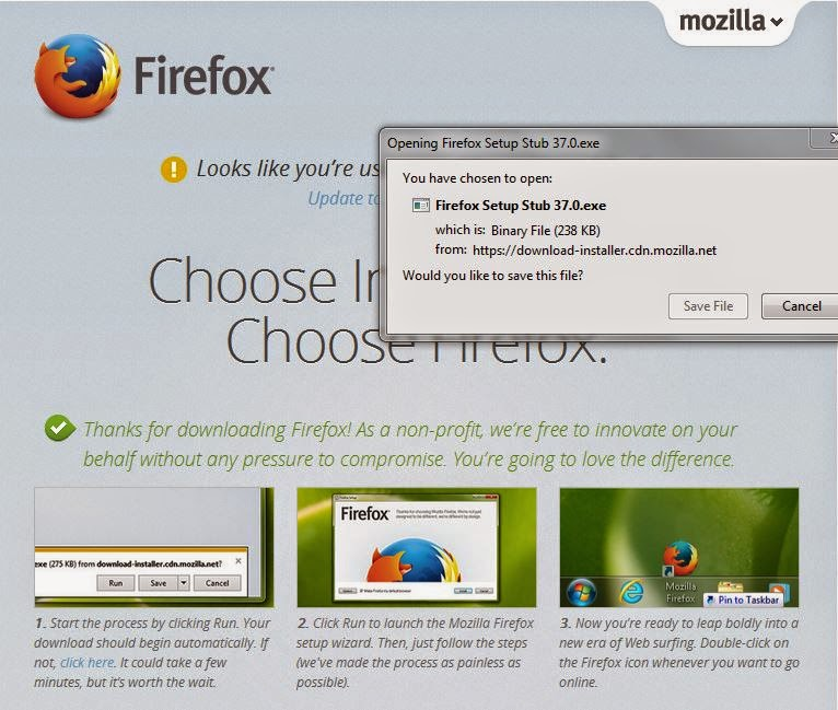 firefox browser for windows xp