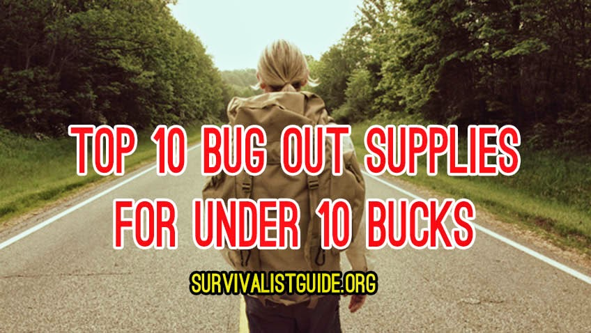 bug out supplies