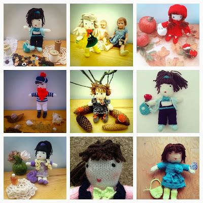 poupée crochet crochet doll
