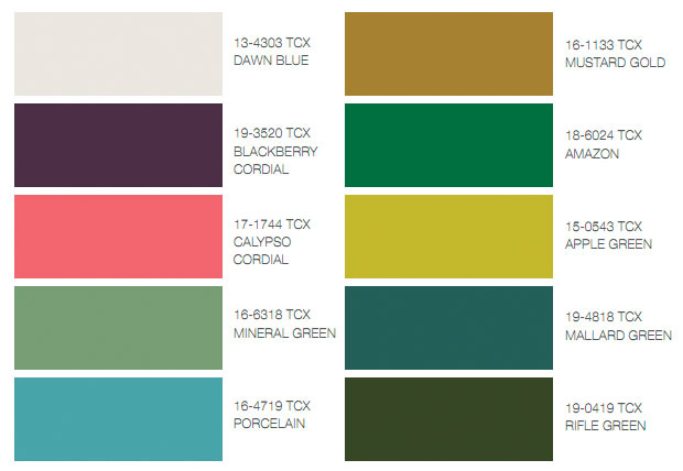 Unbreakable Diamond: Color trends Fall 2011