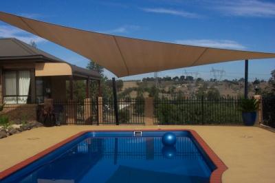 Swimming pool shade in dubai abu dhabi uae - Swimming pool canopy ...