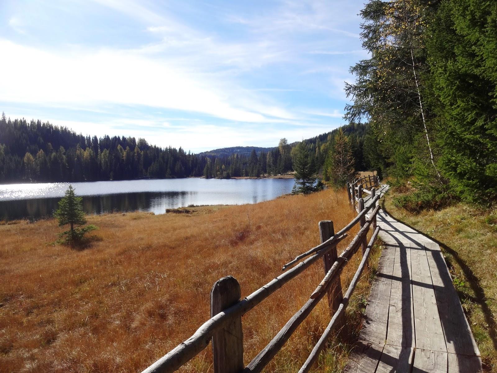 Pretty Clover Beautyblog, See, Herbststimmung, Bäume