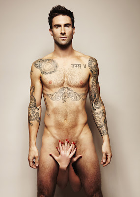 "Adam Levine of Maroon 5 and The Voice likes underwear so thing don't ""flop around"""