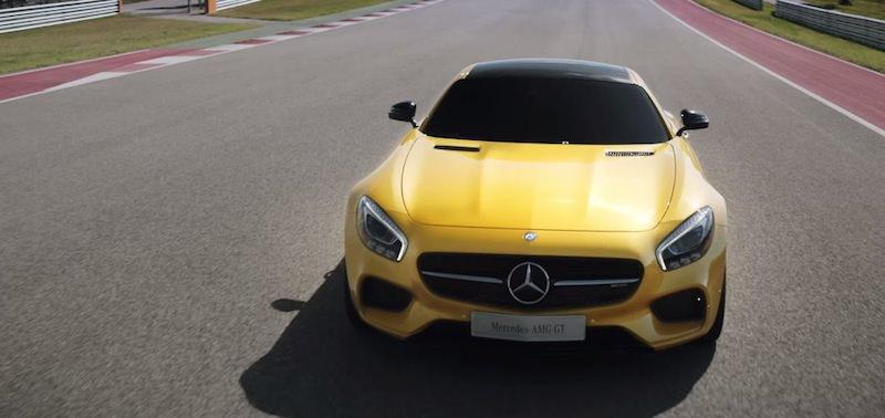 【動画】4k画質で再生出来る「メルセデス-AMG GT」の公式プロモーションビデオ