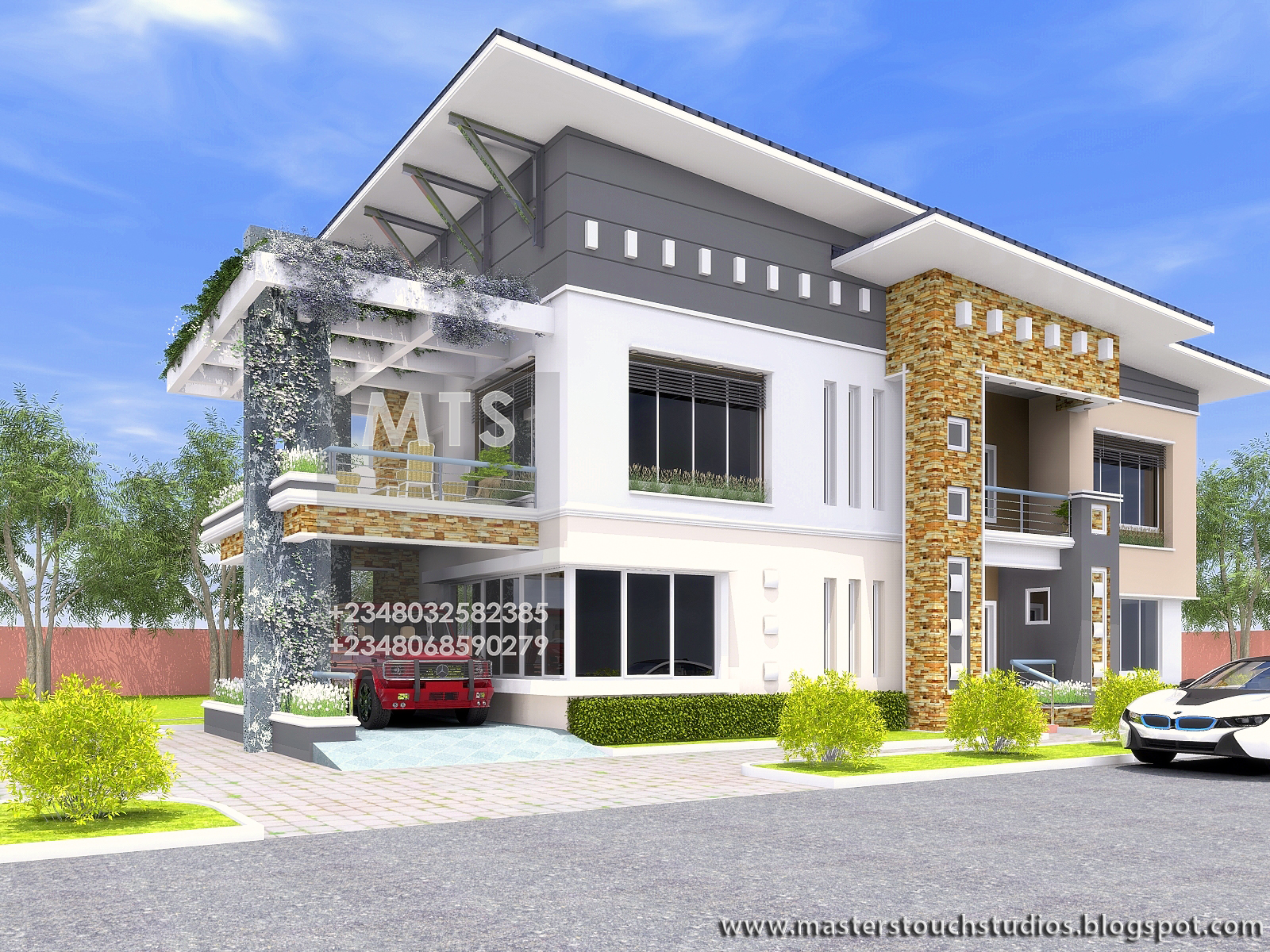 Engr eddy 6 bedroom duplex modern and contemporary for 6 bedroom house designs