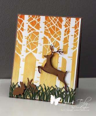 Diana Nguyen, IO, Memory box, stencil, deer, masculine