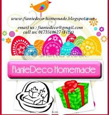 FianieDeco Homemade Coklat