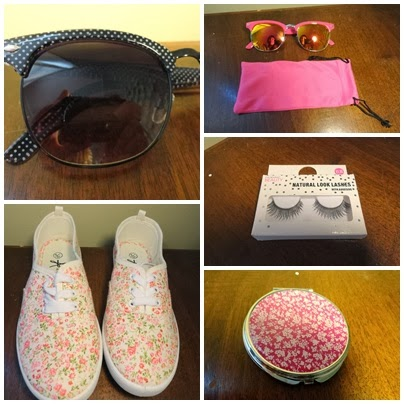 Clothes & Dreams: Shoplog: Primark: sunglasses, shoes, mirror and fake eyelashes