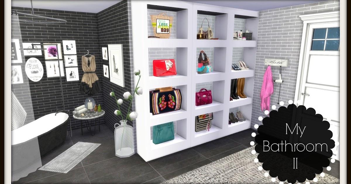 Sims 4 Bathroom Ii Dinha