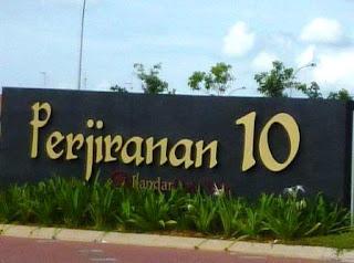 Perjiranan 10, Bandar Dato' Onn