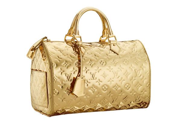 Bolsa Dourada : Eu sou estilosa bolsa dourada