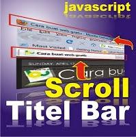 Cara Membuat Scroll Timer Pada Blog