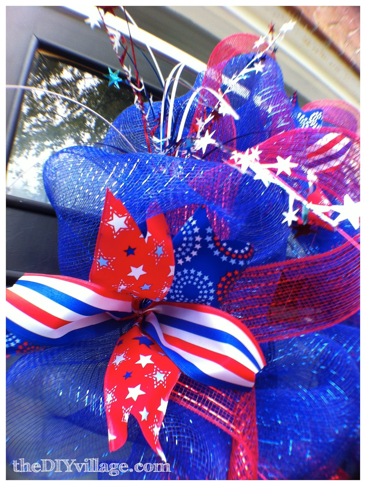 4th Of July Decor Table Centerpiece Outdoor