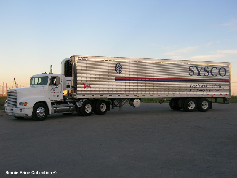 Sysco Food Delivery Truck We are incredibly blessed here