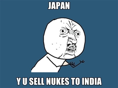 japan y u sell nukes to india