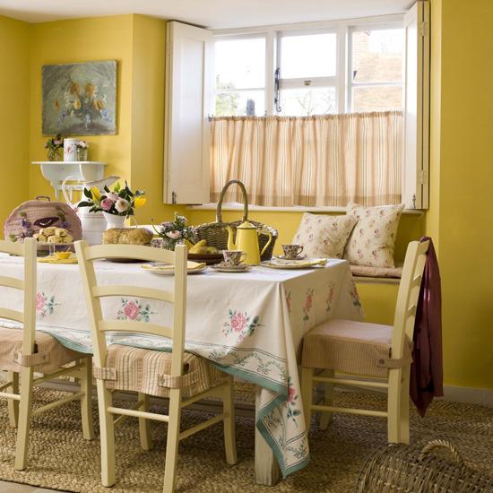 Atelier de charo comedores acogedores cozy dining rooms for Comedores acogedores