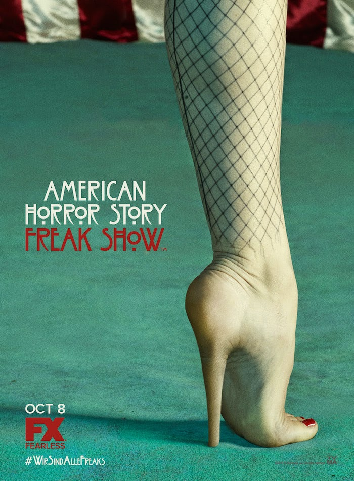 American Horror Story, American Horror Story Season 4, American Horror Story: Freak Show, Jessica Lange, Ryan Murphy, Kathy Bates, Fox TV, FX