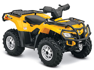 2013 Can-Am Outlander XT 400 ATV pictures 1