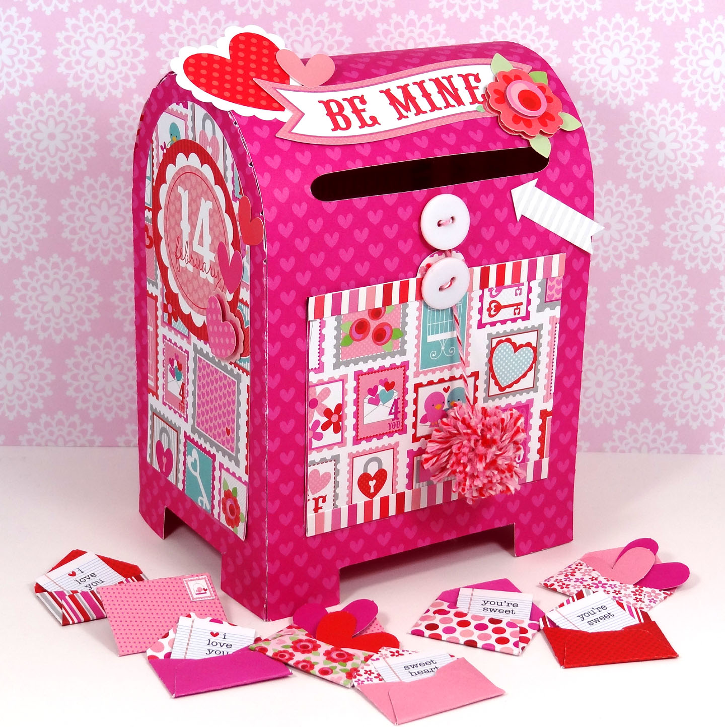 to create this fun special delivery valentine box be sure to visit amandas blog to see if she shares any tips on how she created this fun box - Valentine Mailboxes