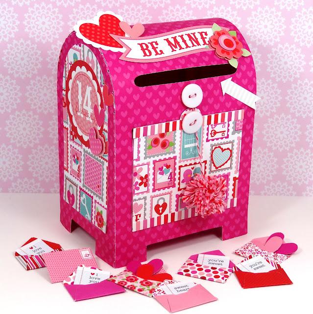 Doodlebug design inc blog january 2013 special delivery valentines mailbox solutioingenieria Images