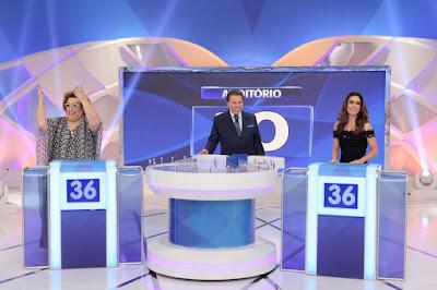 Mamma, Silvio e Ticiana (Crédito: Lourival Ribeiro/SBT)