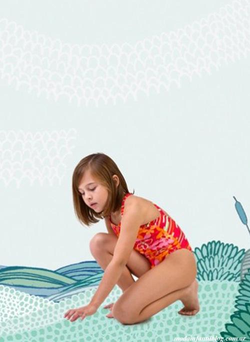 mallas de moda verano 2014 para niñas