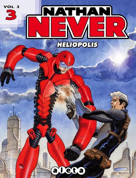 Nathan Never Aleta Ediciones