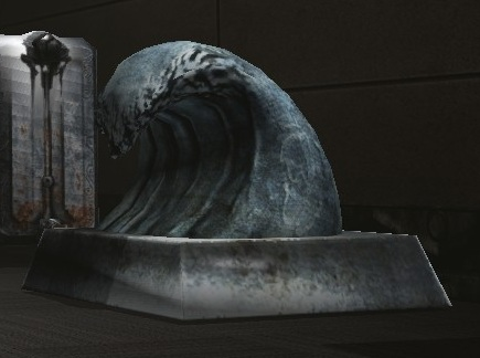 Tidal Wave Statue