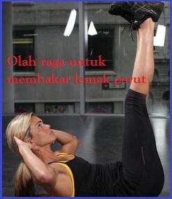 Vertical Leg Crunch untuk Mengecilkan perut buncit