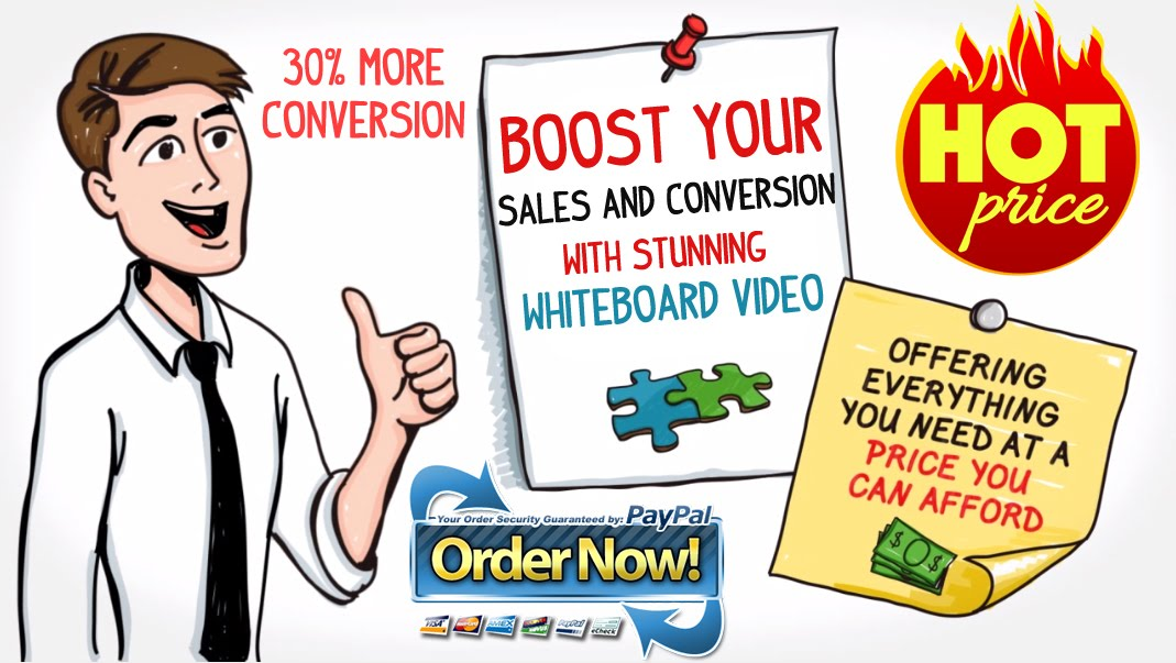 PROMOTE BUSINESS with Whiteboard Video