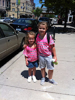 Stacy Snyder - parentunplugged - My Summer Vacation - picture of my girls
