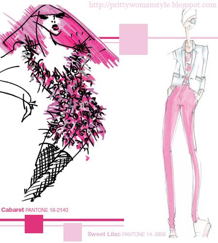 Люляково Розово Sweet Lilac PANTONE 14 -2808
