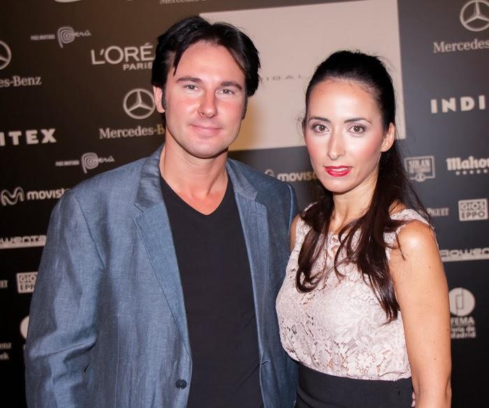 El diseñador de calzado Joaquim Ferrer y la blogger Withorwithoutshoes