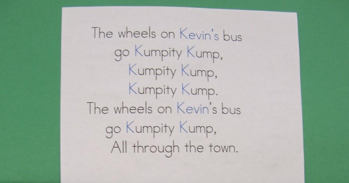 Wheels On Kc Bus on Eric Carle Author Study