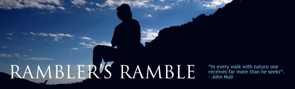 A rambler's ramble