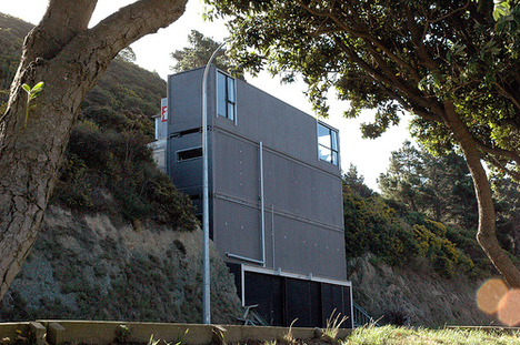 shipping container homes: prefabricated container home in new zealand