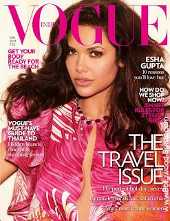 Hot Esha Gupta Cover Girl Vogue April 2013