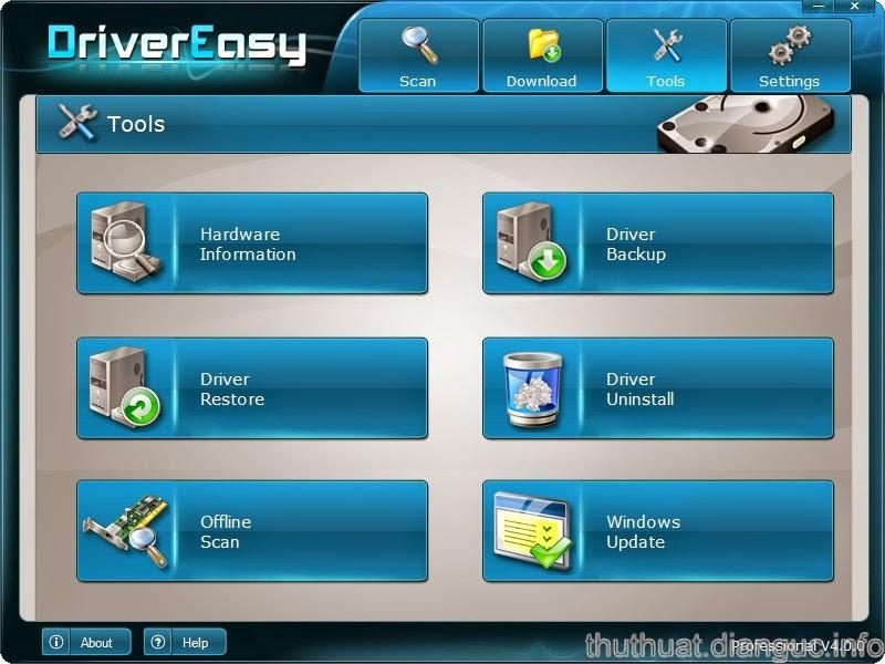 Download DriverEasy 4.8 full key – Phần mềm cập nhật Driver tốt nhất