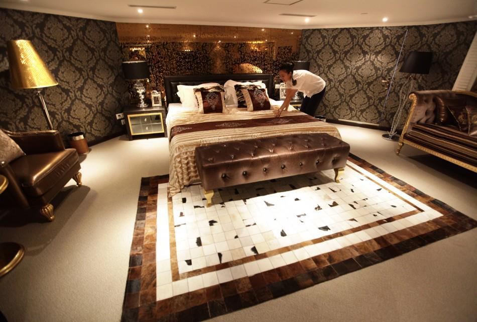 Tapetes de couro for Design hotel lizum 1600