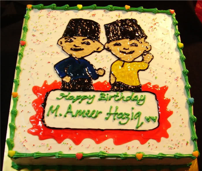Upin and Ipin Cakes For Birthday