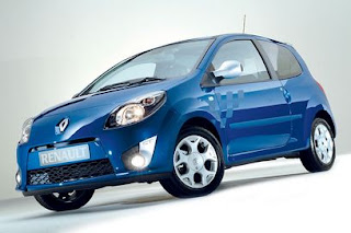 blue Renault Twingo 2012 wallpaper