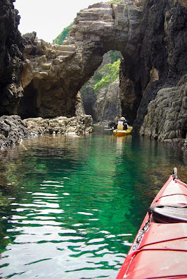 Sea Caves, Okinoshima Islands, Shimane, Japan